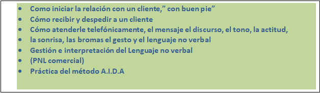 Unicem: formación en  atención al cliente