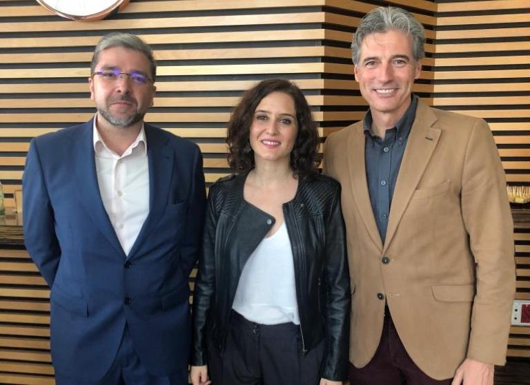 Isabel Díaz Ayuso, visita Torrejón de Ardoz
