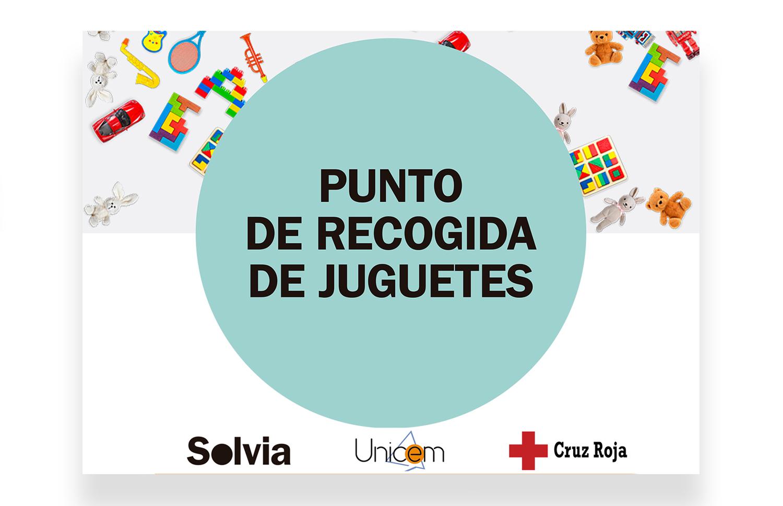 Campaña de la Cruz Roja y Unicem recogida de juguetes