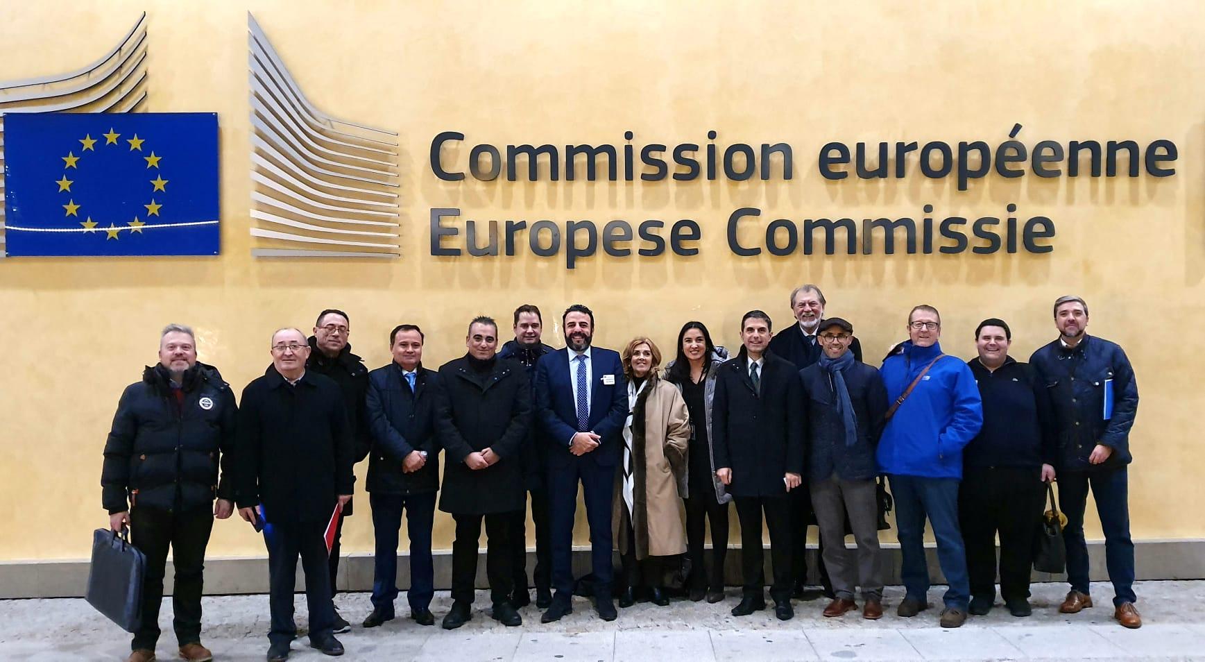 Presentación en el Parlamento Europeo, del proyecto de reindustrialización del Corredor del Henares