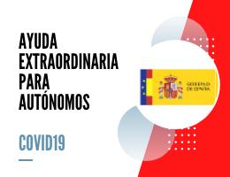 PRESTACIÓN EXTRAORDINARIA PARA AUTÓNOMOS AFECTADOS POR COVID19