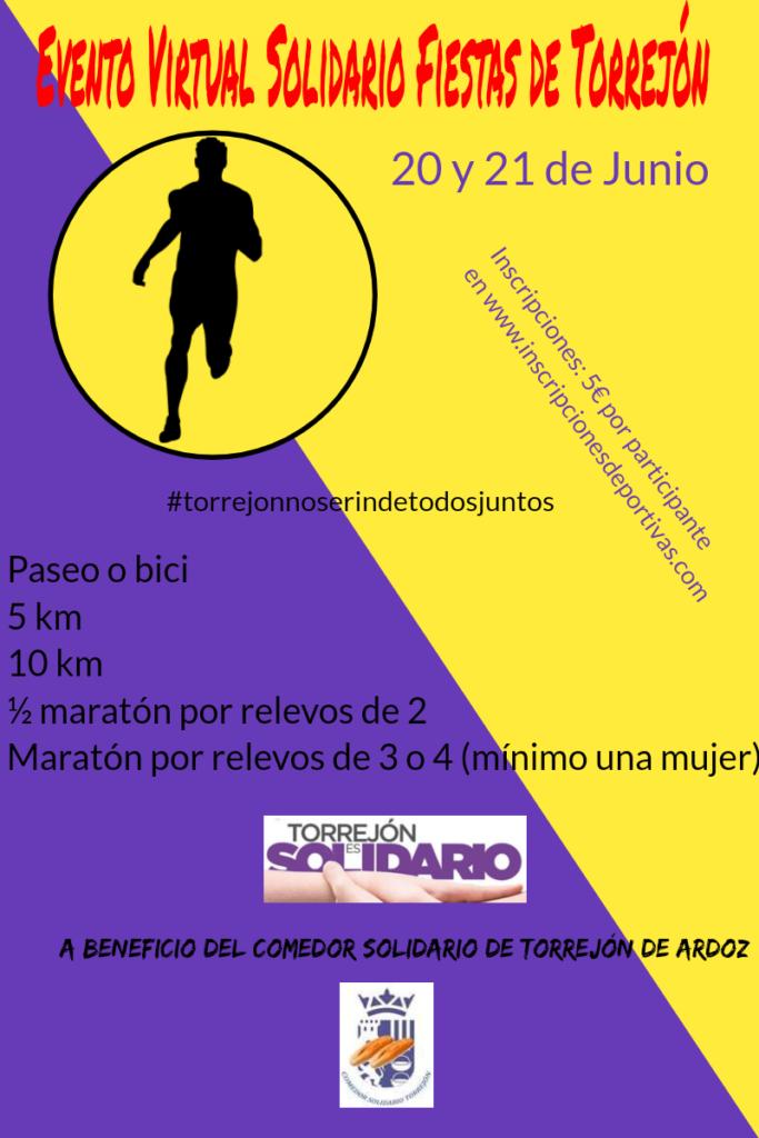 Evento Virtual Solidario Fiestas de Torrejón